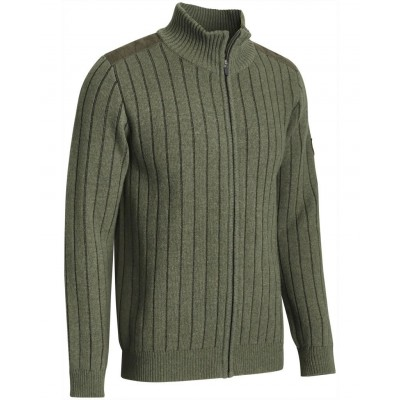 Chevalier Fjord Plated Wool Cardigan