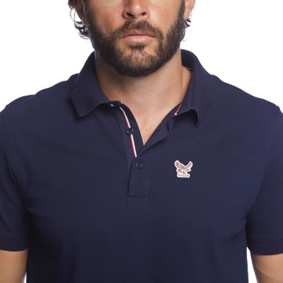 Aigle Polo Bartley Dark Navy