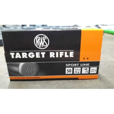 RWS Target Rifle cal. 22 LR