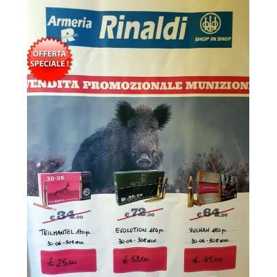 vendita promozionale munizioni