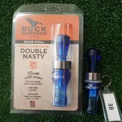 La Valle Buck Gardner richiamo Double Nasty blue n°38